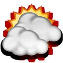 Nuvarande väder: (06:40) Molnligt, Uppehåll